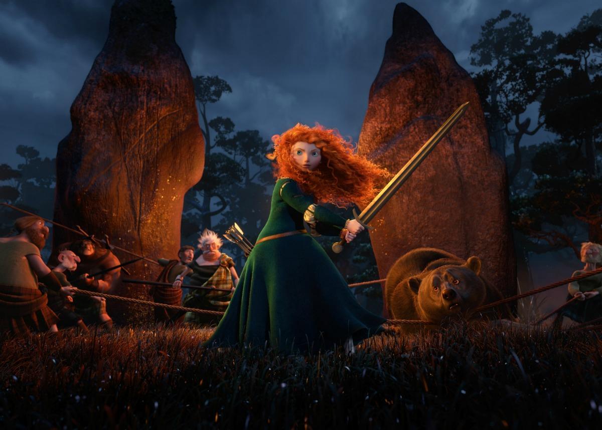 """Immagine da """"Ribelle - The Brave"""", nuovo film Pixar."""