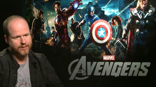 Joss Whedon in una conferenza per The Avengers