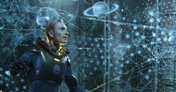 Prometheus, una scena del film