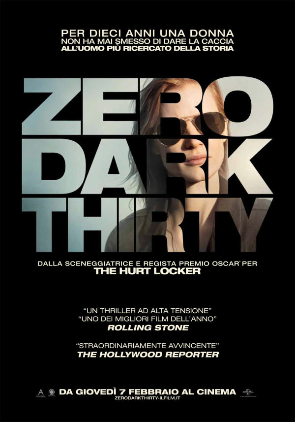 zero dark thirty scheda film