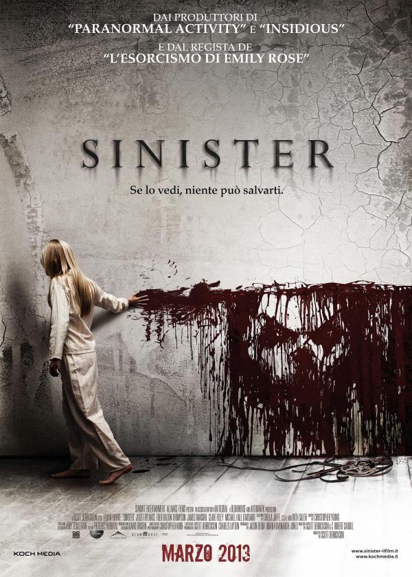 sinister scheda film