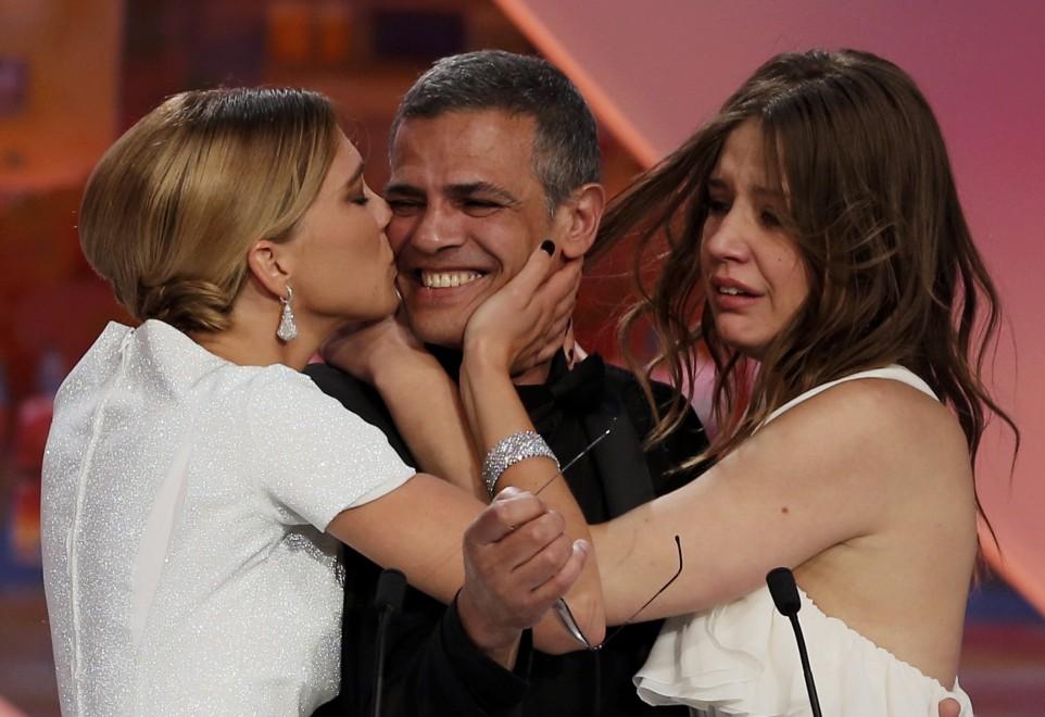 """""""La vie d'Adéle"""" vince la Palma d'oro a Cannes, miglior attore con sorpresa"""