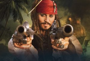 Capitan Jack Sparrow (Johnny Depp)
