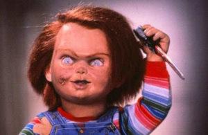 prime immagini del film il ritorno della bambola assassina Curse of Chucky