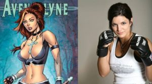 Gina Carano protagonista in Avengelyne