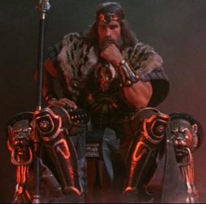 Arnold Schwarzenegger The Legend of Conan