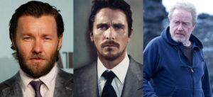 Joel Edgerton Christian Bale Ridley Scott Exodus