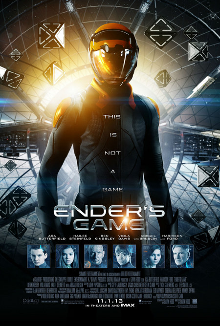 Ender's Game Locandina Ufficiale