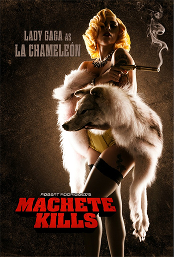Machete Kills clip con Lady Gaga