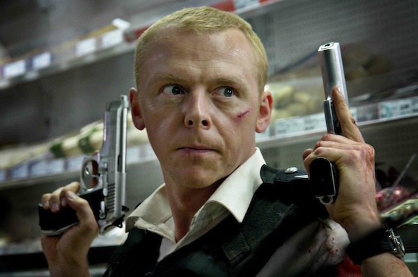 Simon Pegg assassino in Kill Me Three Times