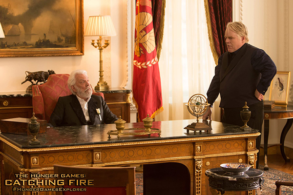 Philip Seymour Hoffman in digitale in Hunger Games Mockingjay