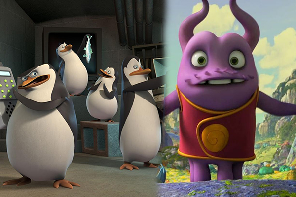 DreamWorks: news sui Pinguini di Madagascar e Home
