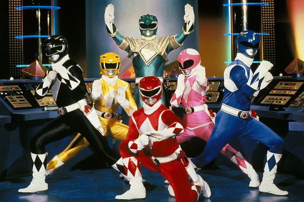 Film Power Rangers con sceneggiatori X-Men