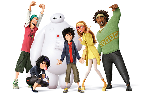 Big Hero 6 Nuova clip football