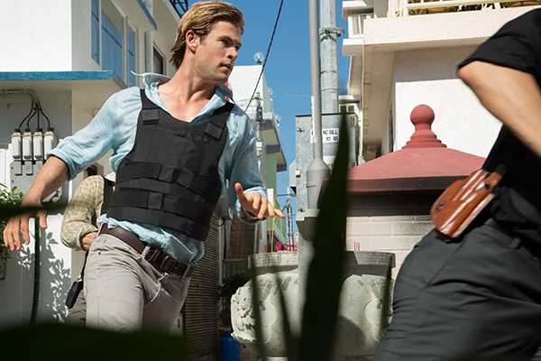 Chris Hemsworth trailer Blackhat nuove immagini