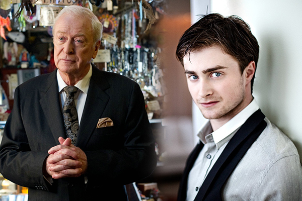 Daniel Radcliffe Michael Caine Now You See Me 2