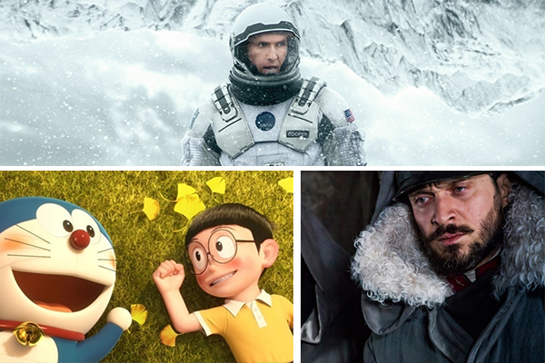 Film in uscita 3 6 novembre Interstellar Doraemon Torneranno i prati