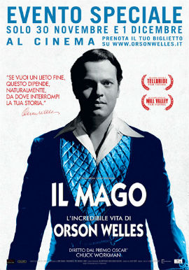Il Mago: l'incredibile vita di Orson Welles, trailer