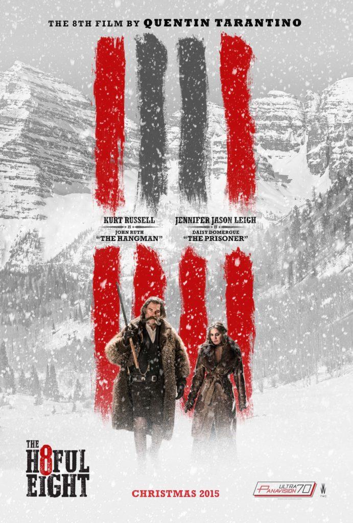 The Hateful Eight nuovo spettacolare trailer italiano