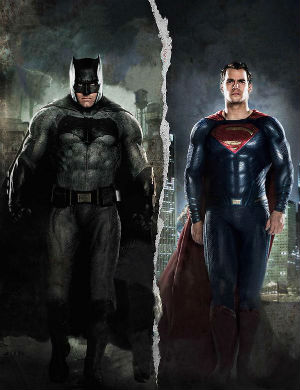 Batman v Superman: dawn of justice, nuovo poster italiano