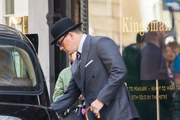 Kingsman: The Golden Circle - Channing Tatum sul set del film