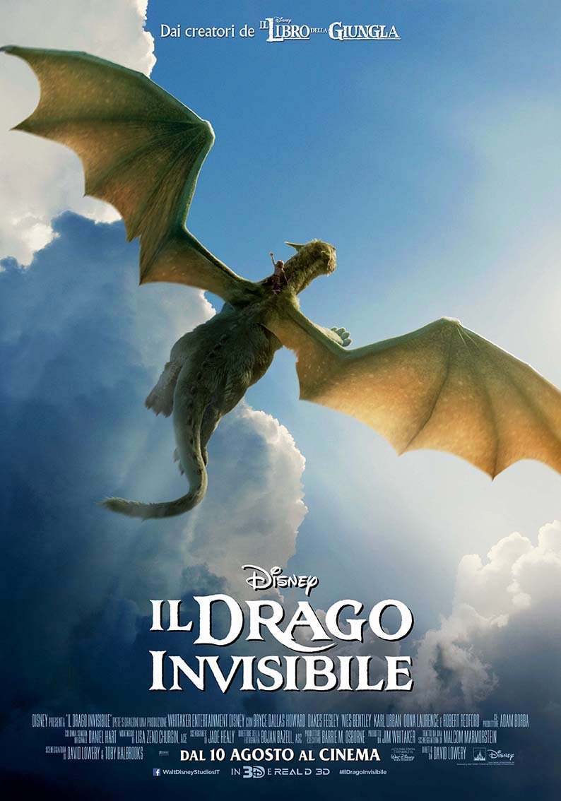 Il Drago invisibile - Trailer italiano del film Disney