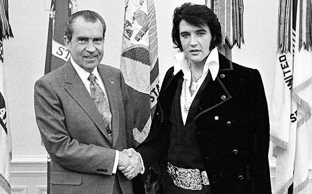 Elvis & Nixon: trailer italiano