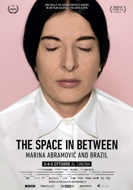 Marina Abramović, The Space In Between scheda film