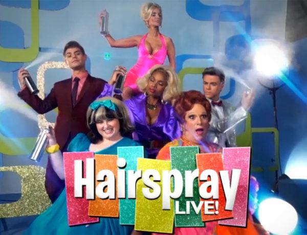 Hstairspray Live cast