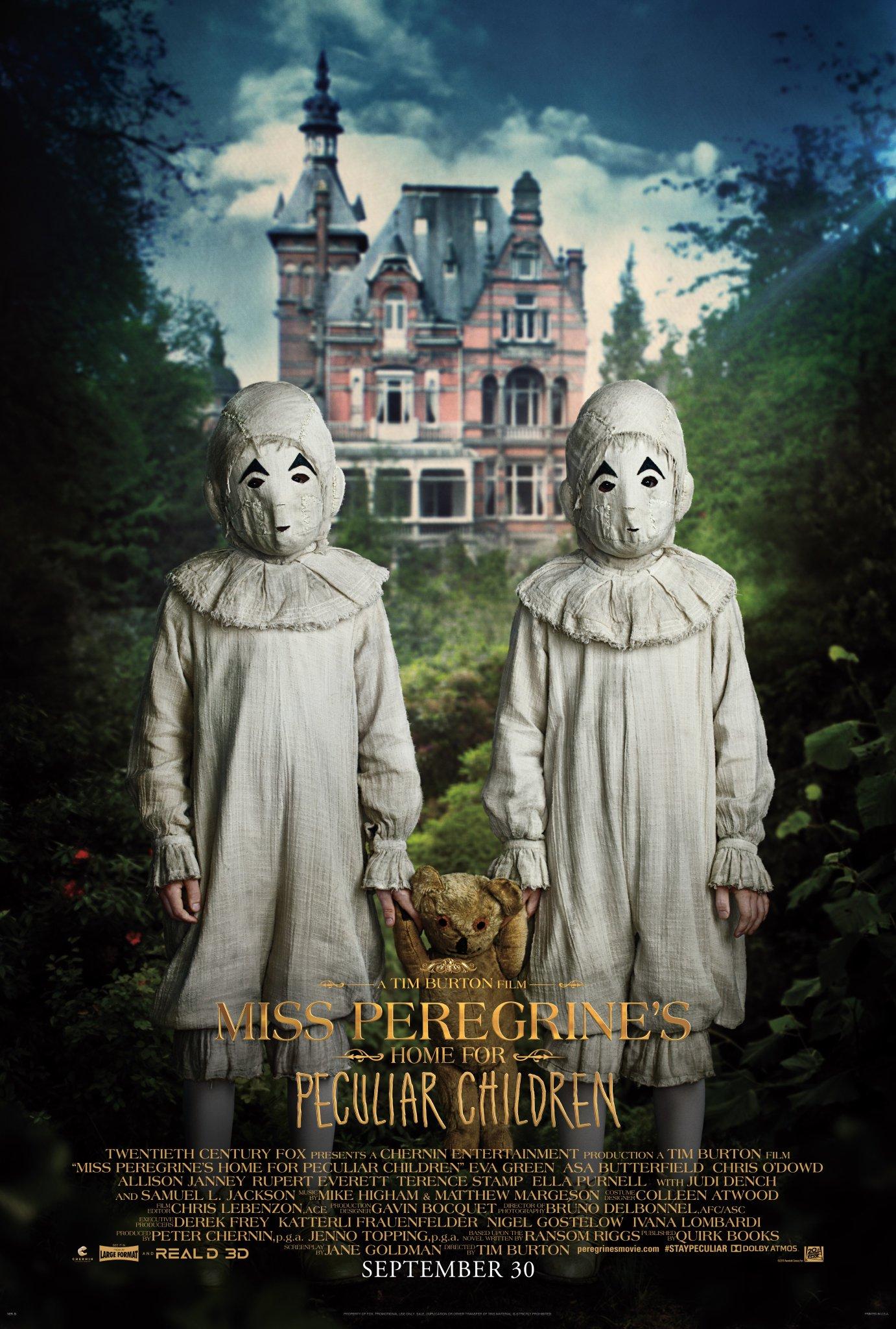 Recensione in anteprima: Miss Peregrine - La casa dei ragazzi speciali di Tim Burton