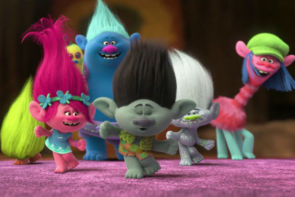 Trolls: trailer italiano