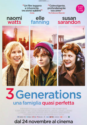 3 generations - una famiglia quasi perfetta: trailer italiano