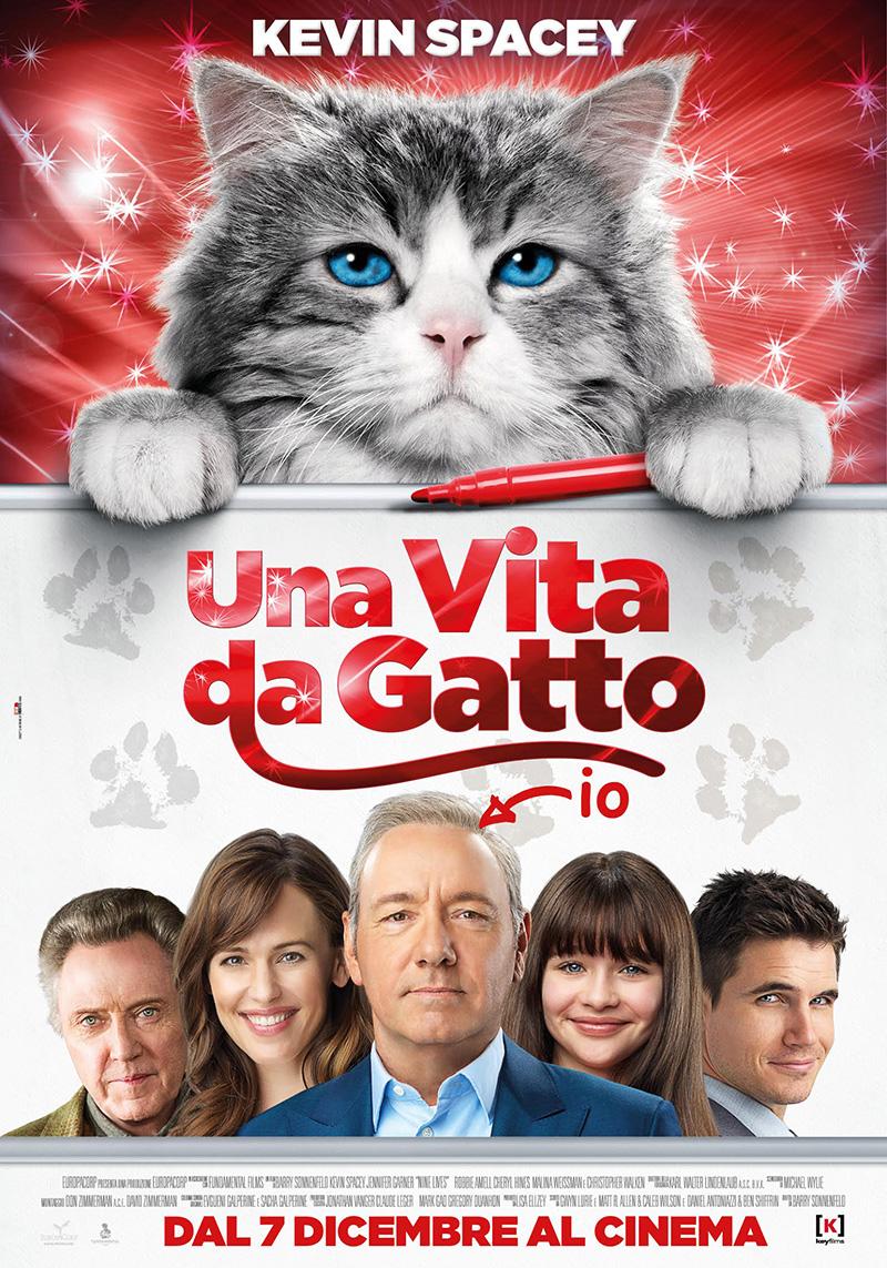 Una vita da gatto: il poster ufficiale della commedia più felina dell'ann